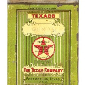 Texaco Gun Oil Tin