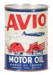 Avio Motor Oil Can