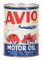 Avio Motor Oil Can
