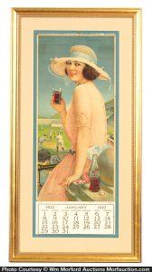 1922 Coca-Cola Calendar