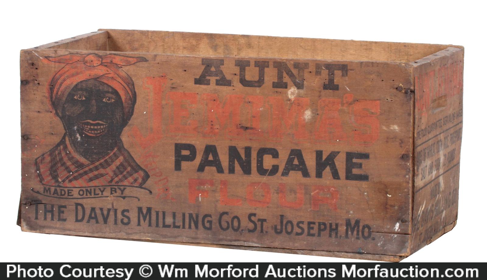 Aunt JemimaÕs Pancake Crate