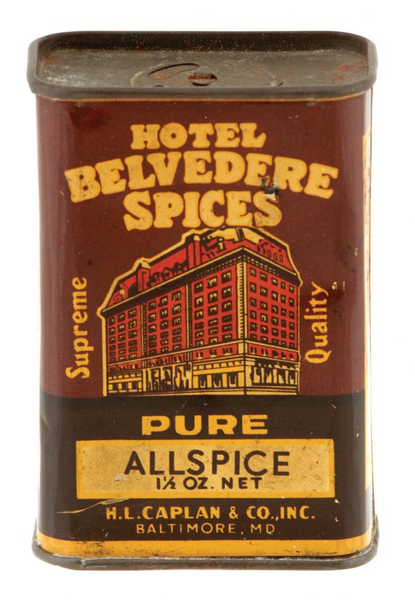 Hotel Belvedere Spice Tin