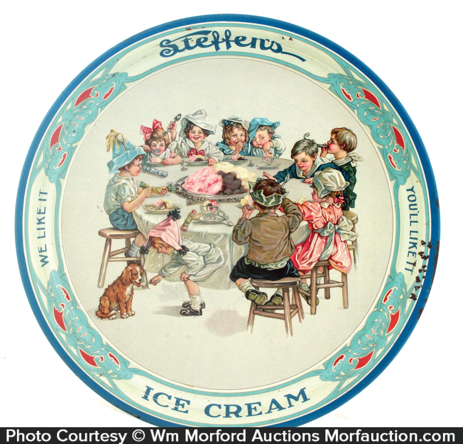 SteffenÕs Ice Cream Tray
