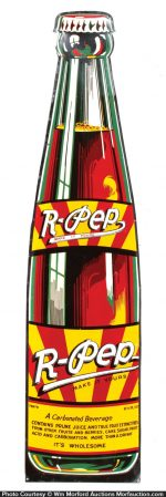 R-Pep Soda Sign