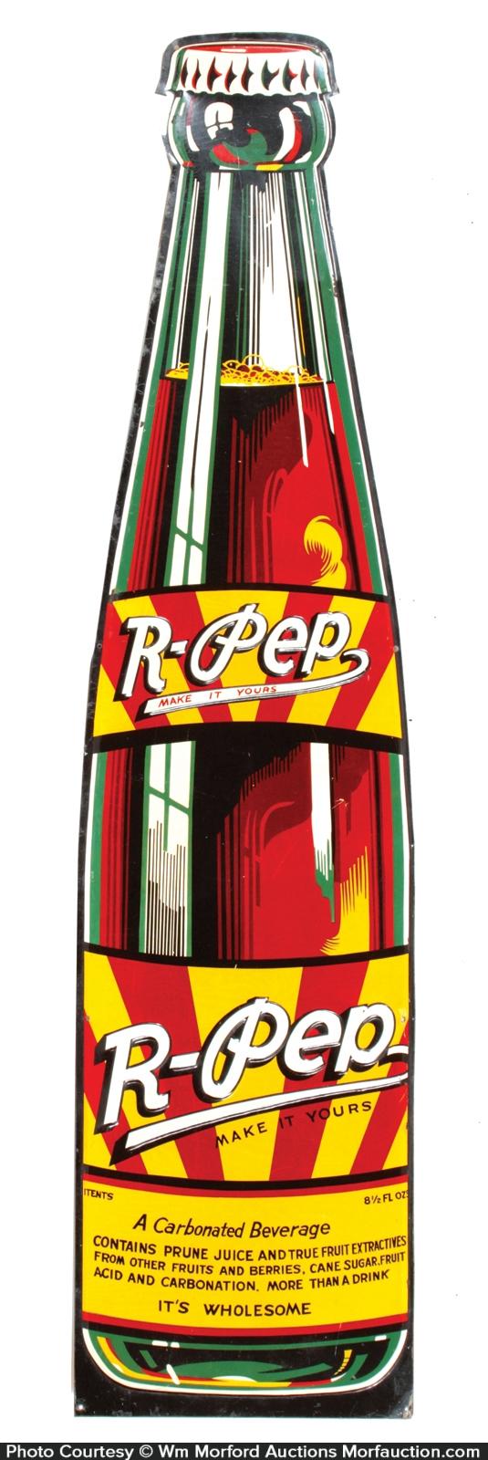 R-Pep Soda Sign