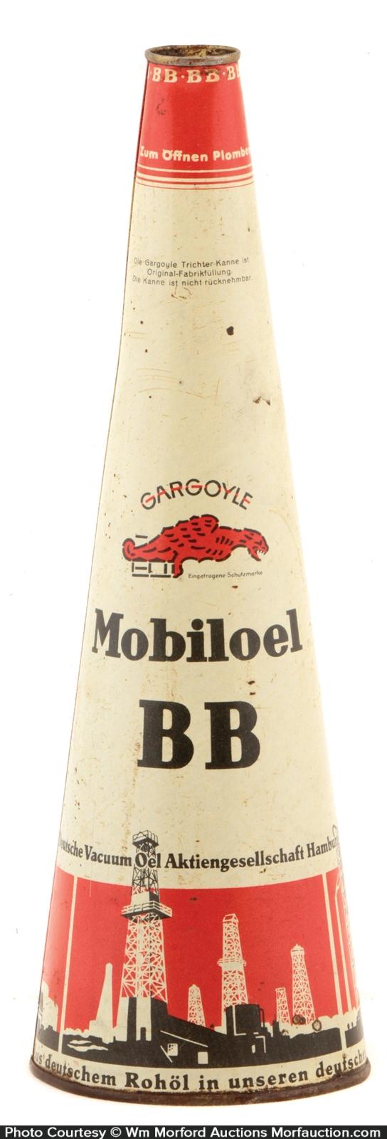 Gargoyle BB Oil Tin