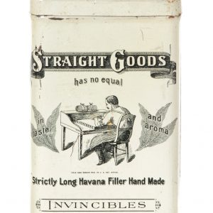 Straight Goods Cigar Tin
