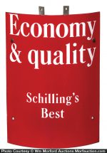 SchillingÕs Spices Corner Sign