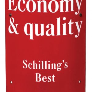 SchillingÕs Spices Corner Sign