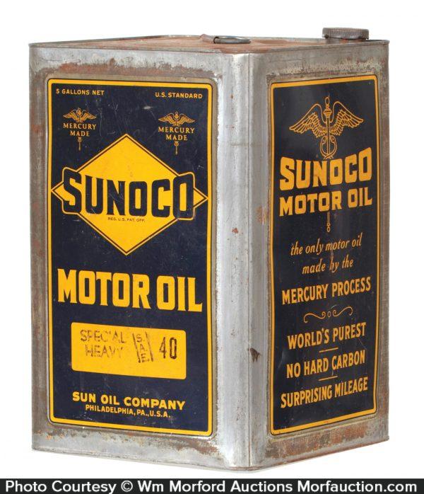 Sunoco 5 Gallon Oil Can