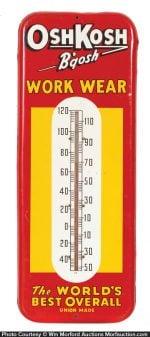 Osh Kosh Thermometer