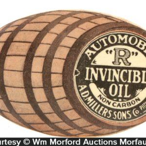 Invincible Motor Oil Mirror