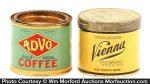 Sample Coffee Tins