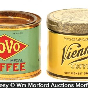 Sample Coffee Tins