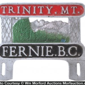 Trinity Mountain Plate Topper