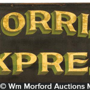 Morris Express Sign