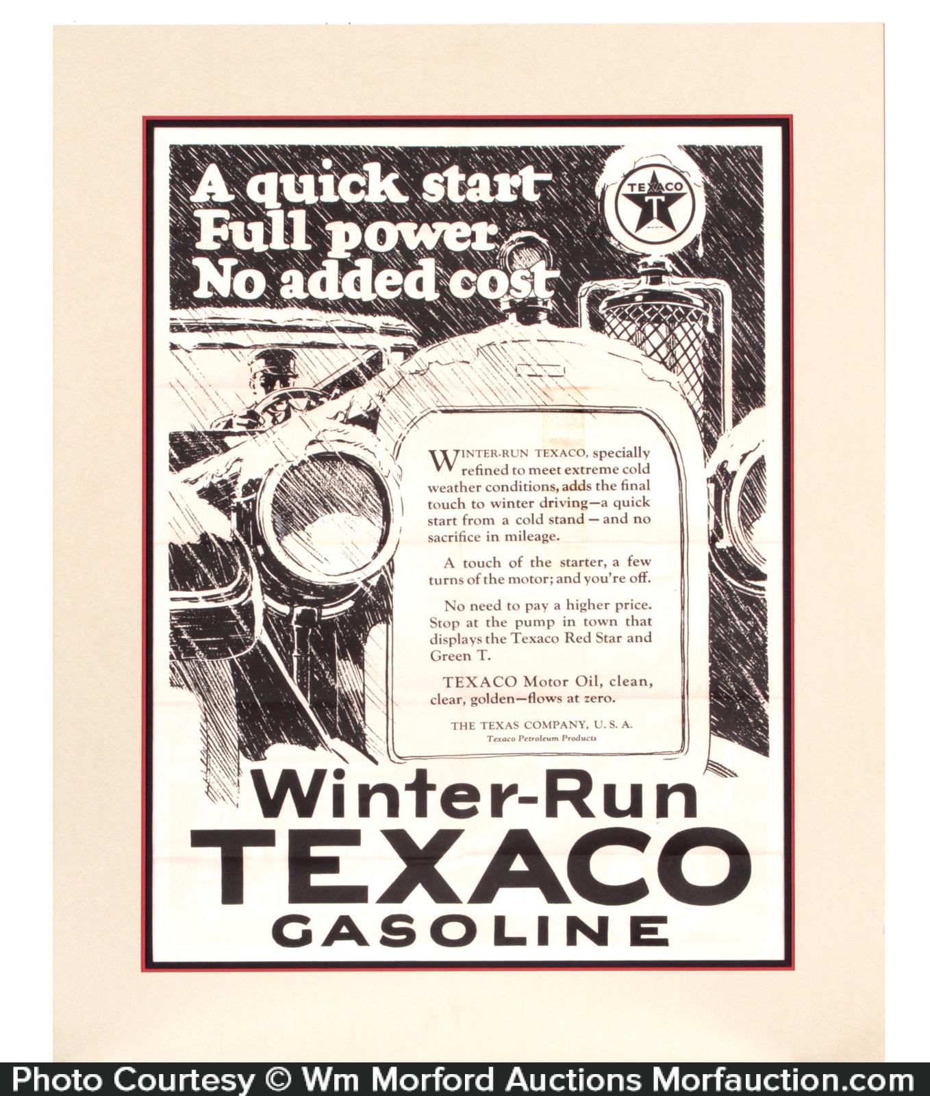 Texaco Poster