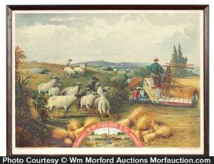 Osborne Harvesting Machinery Sign