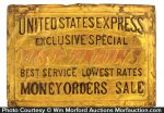 United States Express Sign