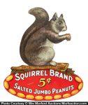 Squirrel Peanuts Die-Cut