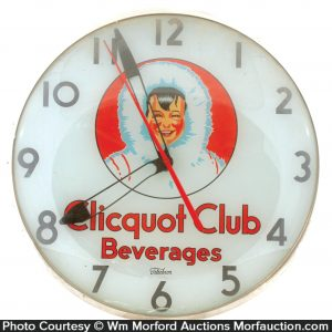 Clicquot Club Clock