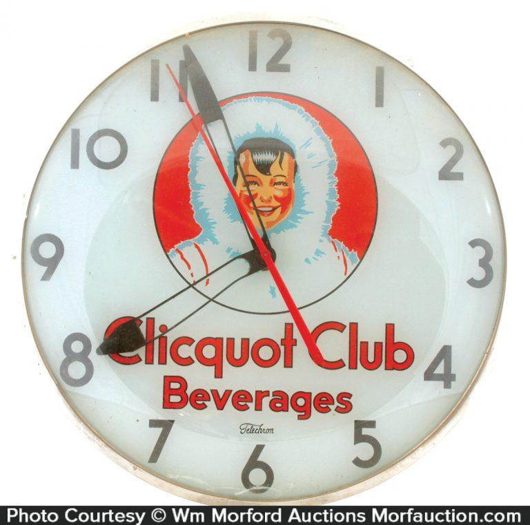 Clicquot Club Clock