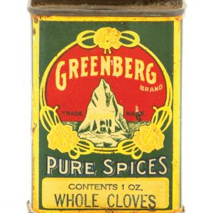 Greenberg Spice Tin
