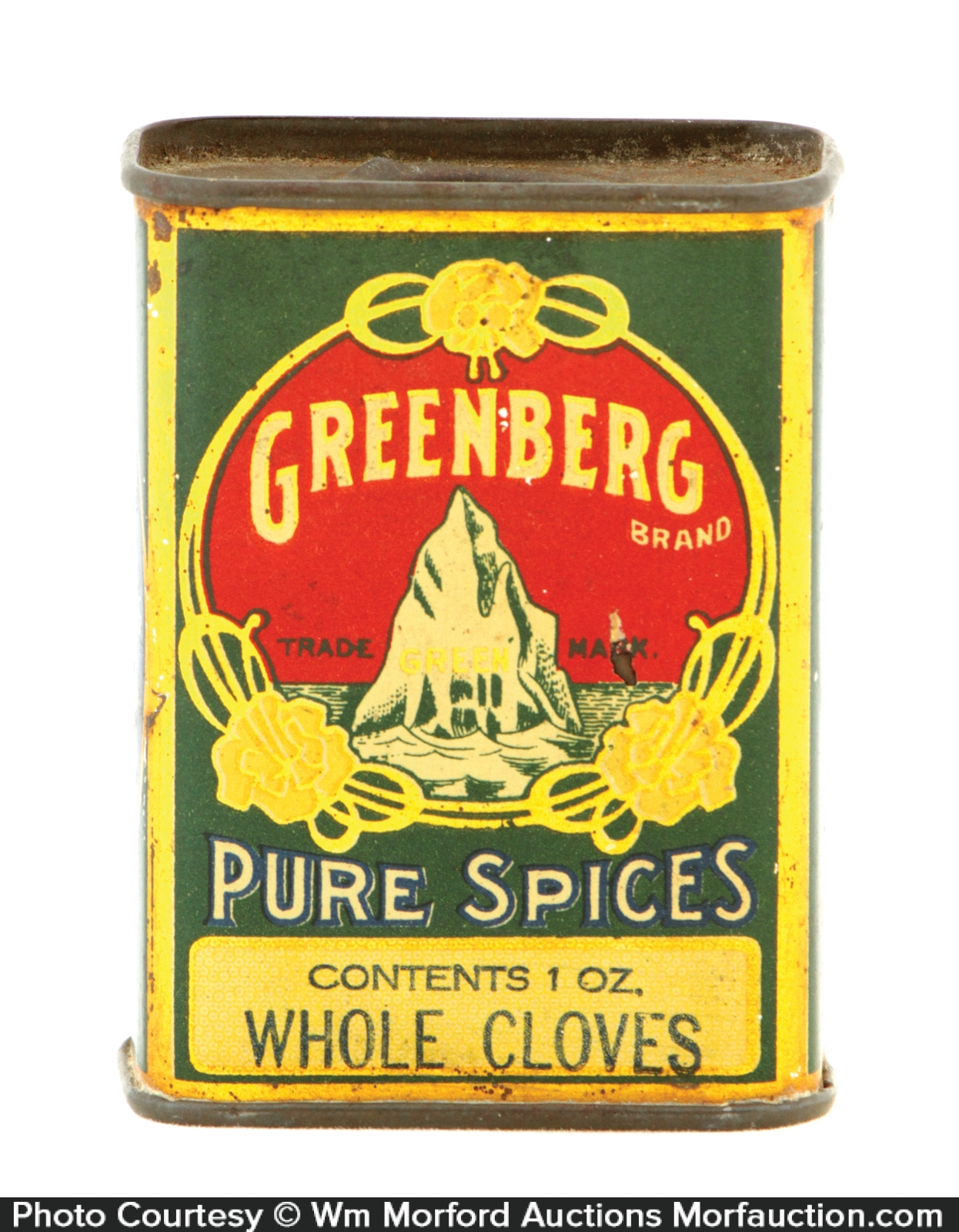 Greenberg Spice Tin