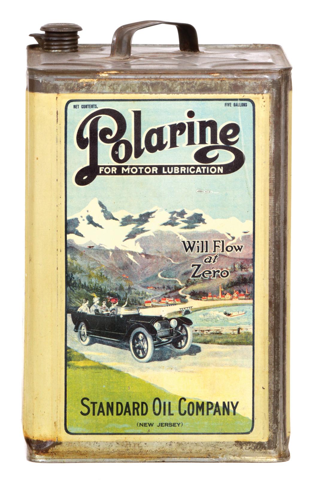 Polarine Oil Can