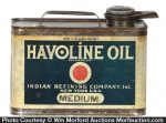 Havoline Oil Can