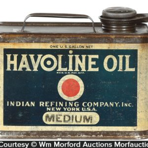 Havoline Oil Can