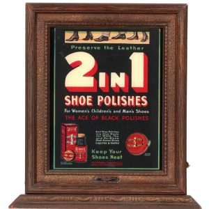 Shoe Polish Light-up Display