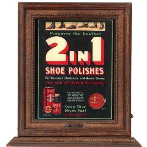 Shoe Polish Light-up Display