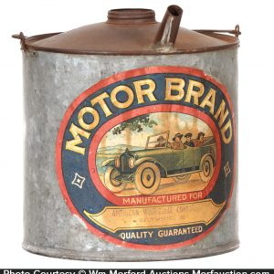 Motor Brand Container