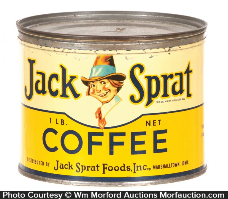 Jack Sprat Coffee Can