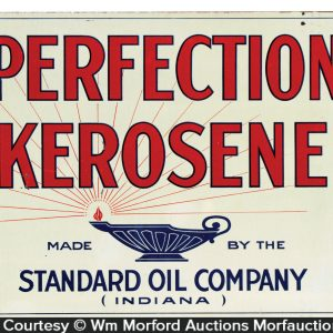 Perfection Kerosene Sign