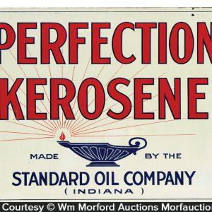 Perfection Kerosene Sign