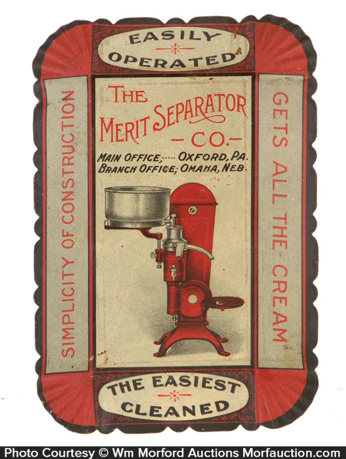 Merit Separators Tip Tray