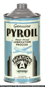 Pyroil Oil Can