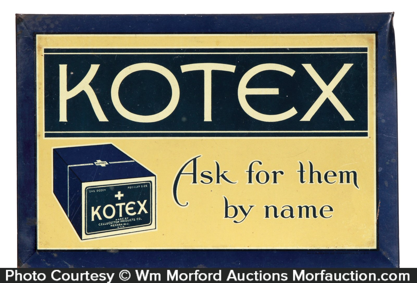 Kotex Sign