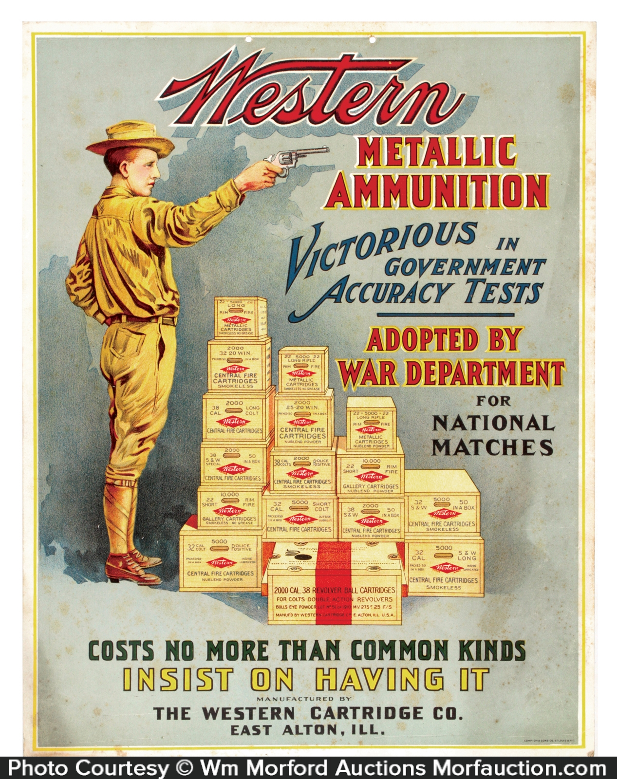 Western Ammunition Sign