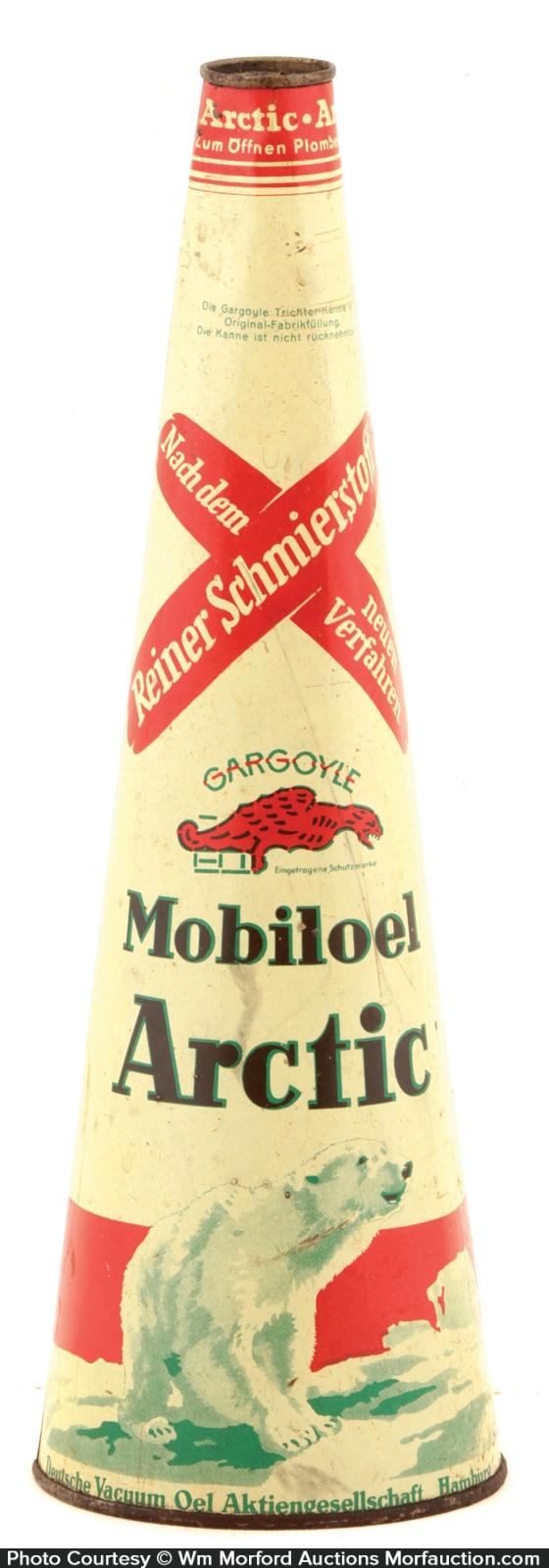 Gargoyle Artic Oil Tin