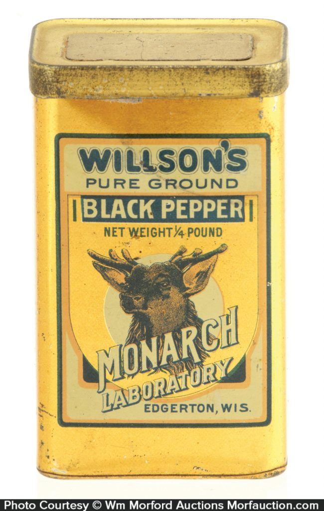 WillsonÕs Spice Tin