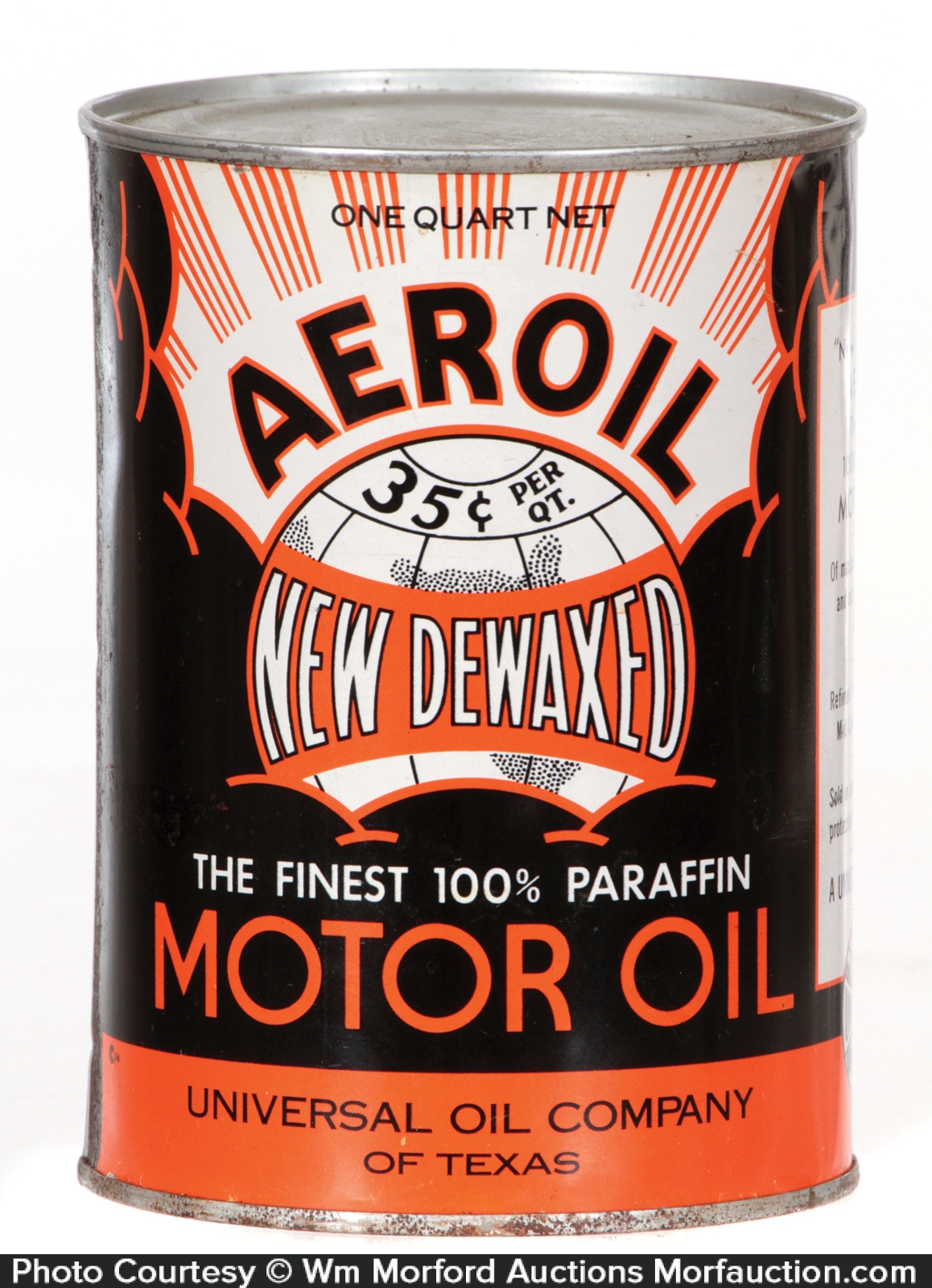 Antique advertising aeroil motor oil can antique for What is the best motor oil to use
