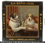 La Sena Cigar Sign