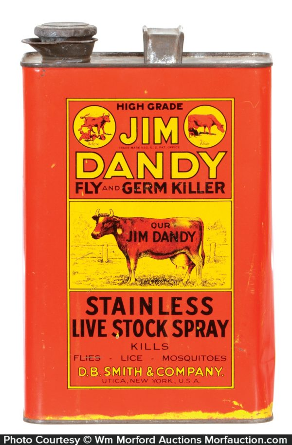 Jim Dandy Vet Tin