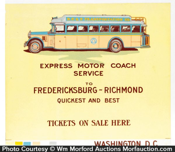 Bus Co. Proof Sign