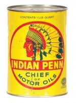 Indian Penn Oil Can