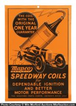 Speedway Ignition Coils Sign