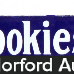 JohnstonÕs Cookies Porcelain Sign